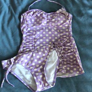 Cute two piece bathing suit Arizona brand.
